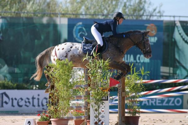 Antonia Schnabel e Fair Play Double al CSI*** Equestrian Style 2007